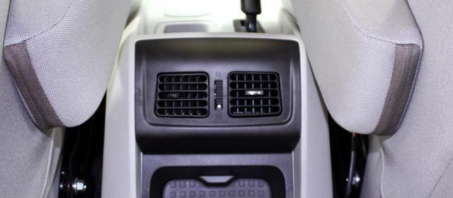 Mahindra Scorpio Facelift Interior Rear AC Vents
