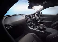 2016 Jaguar XE Interior Front Cabin Passenger Side View