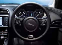 2016 Jaguar XE Interior Steering and Instrument Cluster