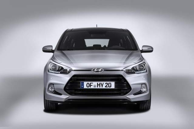 The i20 Coupe gets a highly revised front fascia
