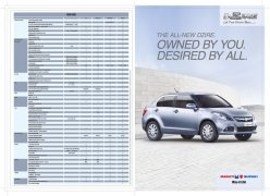 Maruti suzuki new swift brochure