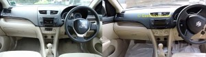 Swift Dzire dashboard