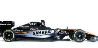 Force India 2015 side