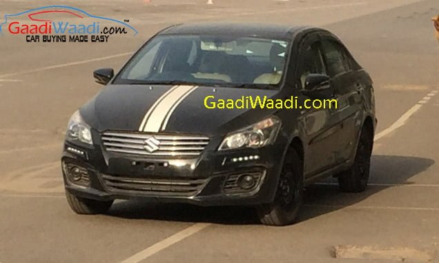 maruti-ciaz-led-lights-racing-stripes