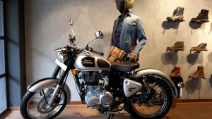 Royal Enfield despatch limited store