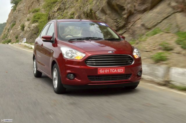 Automatic Sedan Cars in India below 9 Lakhs Price, Specifications, Images ford-figo-aspire-review-red-pics170