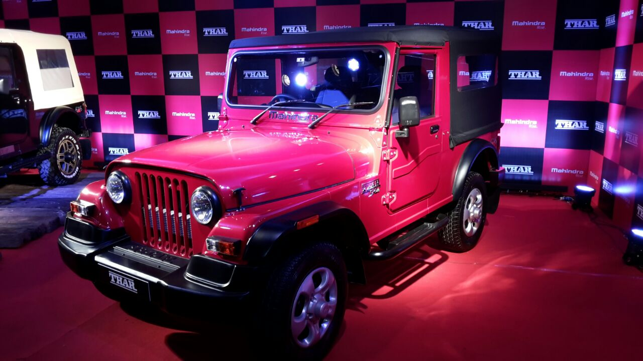 Mahindra Thar New Model Launch Images Features Details