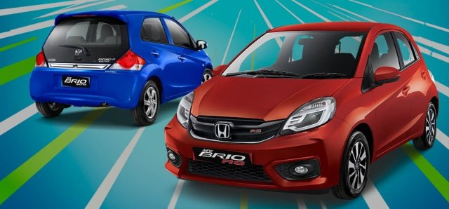 new 2016 honda brio facelift indonesia official image of new model