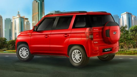 2015-mahindra-tuv300-official-pics-red-rear-angle