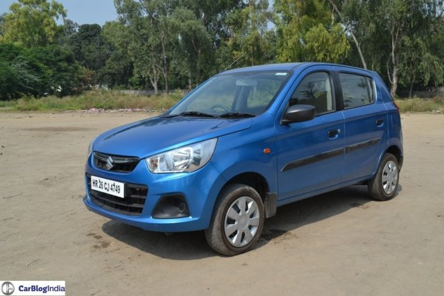Best Small Cars in India Under 4 Lakhs with Images, Mileage, Specs maruti-alto-k10-amt-review-pics-front-angle-2