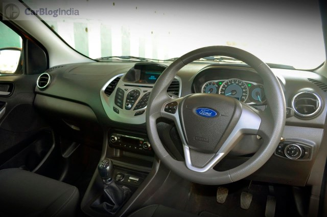 new ford figo price in India, images interior dashboard