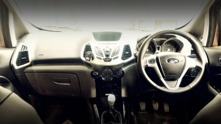 2016 ford ecosport review interior dashboard