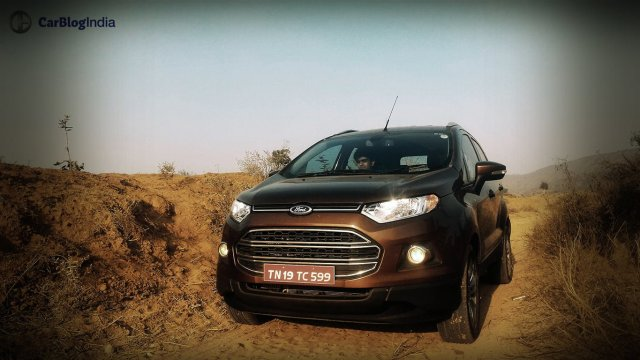 2016 Ford EcoSport Review Photos Front