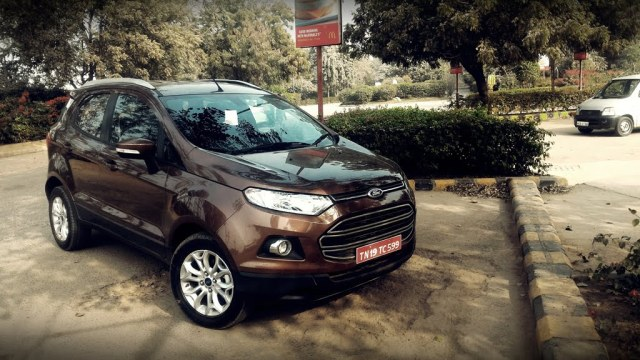 2016 ford ecosport review photos