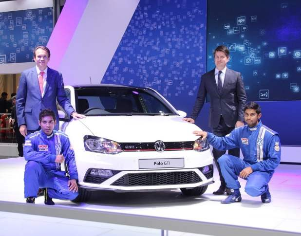 volkswagen cars at auto expo 2016 volkswagen-polo-gt-india-auto-expo-2016