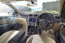 volkswagen ameo launch interior images dashboard