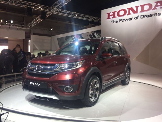 upcoming cars in india 2016, 2017 - honda-brv-front-angle-images