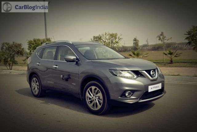 new nissan x-trail hybrid india review-photos-action-front-angle
