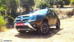 2016 renault duster facelift AWD front