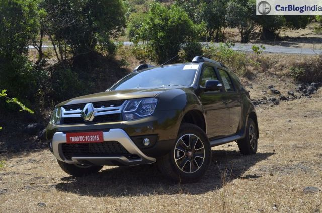 new 2016 Renault Duster Automatic Test Drive Review images (6)