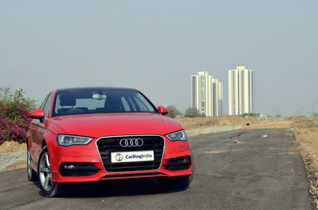 audi a3 test drive review images front
