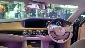 mercedes maybach s600 guard india launch cabin front