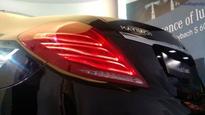 mercedes maybach s600 guard india launch tail light low