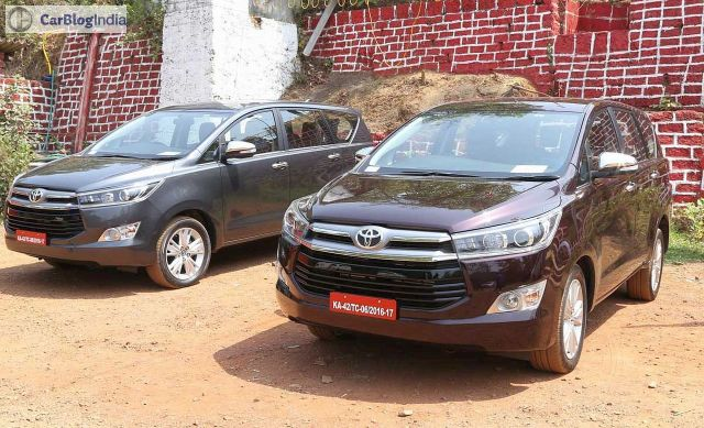 toyota innova crysta review images