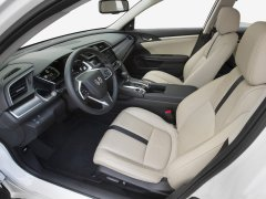 New Honda Civic Diesel India launch in April, 2017. 2016 Civic Interior Front Seats