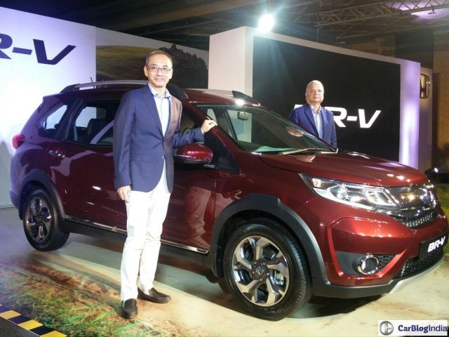 honda BRV official launch image
