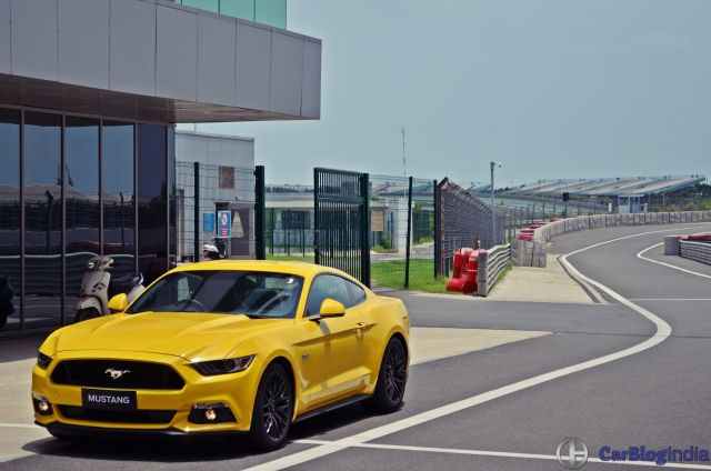 Ford Mustang Test Drive Review India