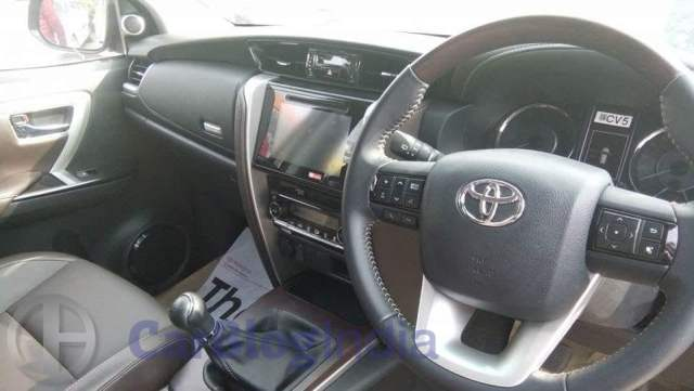 New 2016 Toyota Fortuner India Launch, Price, Release Date 2016-toyota-fortuner-india-spy-shots-interior