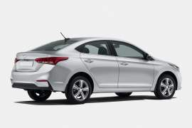 new 2017 hyundai verna india official image rear angle