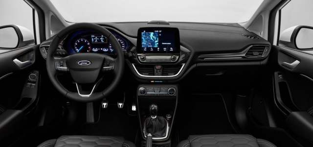 new 2017 ford fiesta interior images dashboard