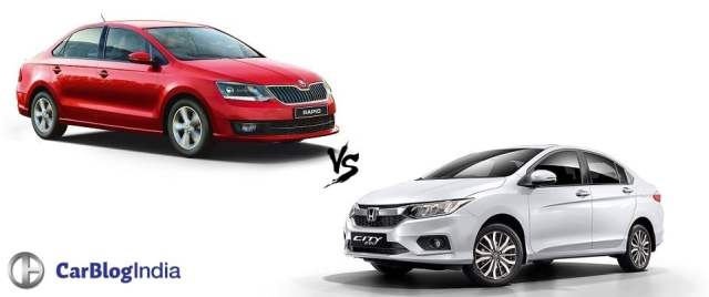 new 2016 skoda rapid vs honda city