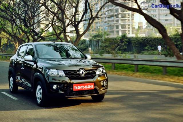 Automatic hatchback cars in India below 7 lakhs with Price, Specs, Mileage renault-kwid-amt-automatic-test-drive-review-images-2