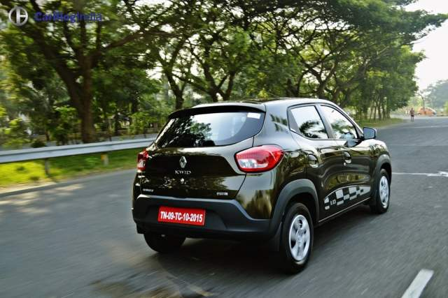 Renault Kwid Easy-R AMT Test Drive Review with Specifications, Images renault-kwid-amt-automatic-test-drive-review-images-5