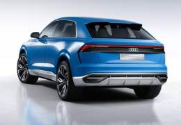 2017 audi q8 concept official image rear