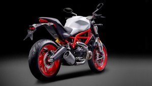 Ducati Monster 797 India official images rear angle