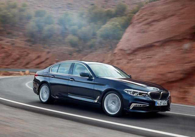 2017 bmw 5 series india official image