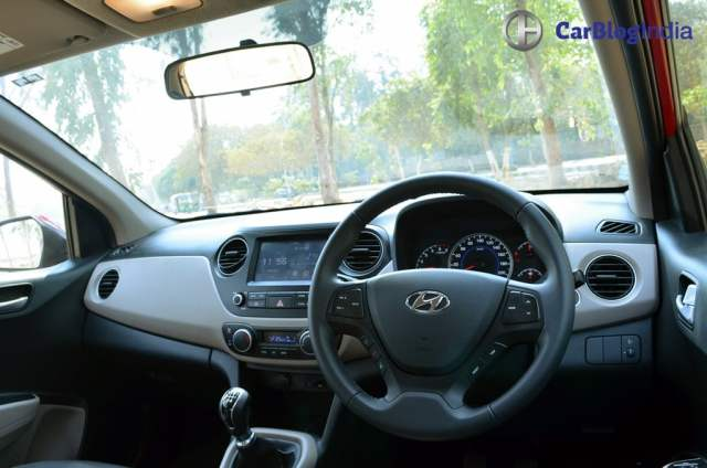 2017 hyundai grand i10 facelift test drive review dashboard