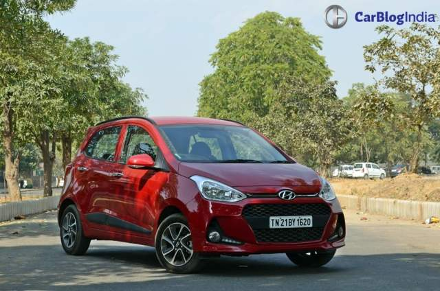 2017 hyundai grand i10 facelift test drive review