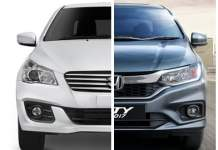 maruti ciaz vs honda city frontq