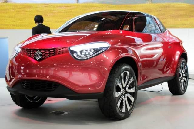 new maruti small car suzuki crosshiker concept images front angle