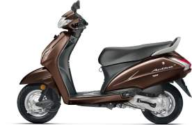 2017 honda activa 4g colours majestic brown