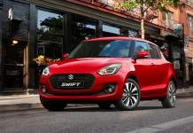 2018 maruti suzuki swift official images front angle