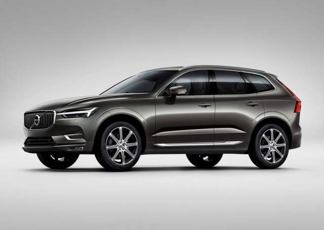 2018 volvo xc60 india official images front angle