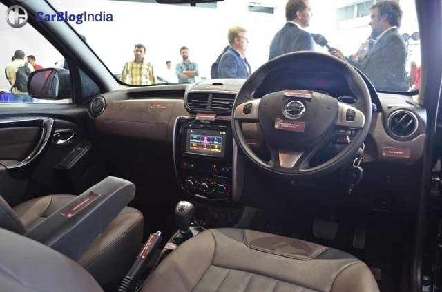 new nissan terrano 2017 facelift interiors