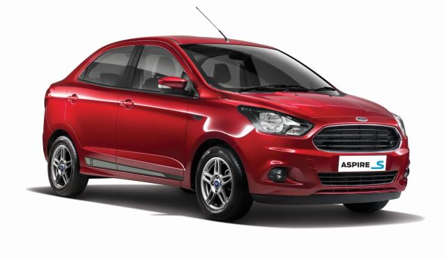 2017 ford aspire s