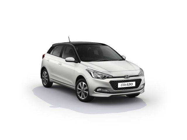 2017 hyundai elite i20 images white paint black roof